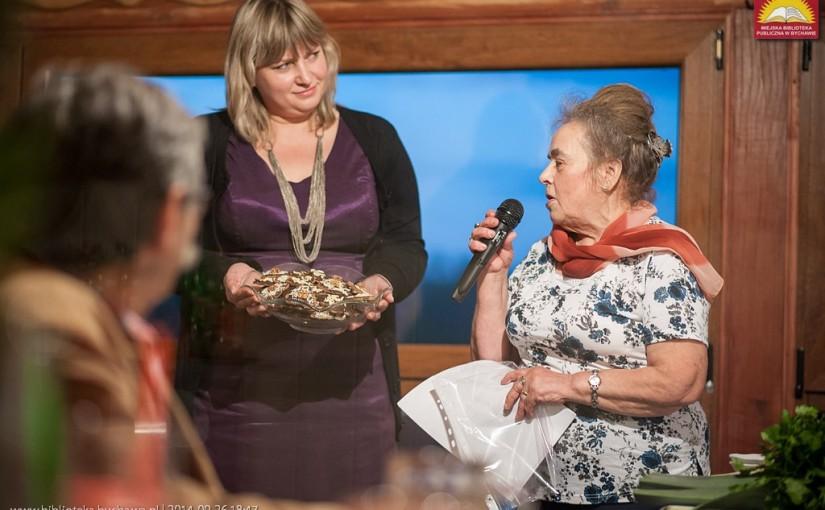 Kolacja dla Mola, impreza literacko-kulinarna, Restauracja u Saszy, 26 września 2014 roku