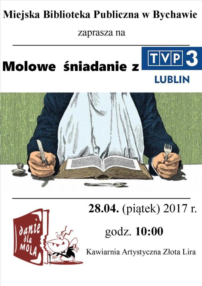 molowe śniadanie z TVP Lublin